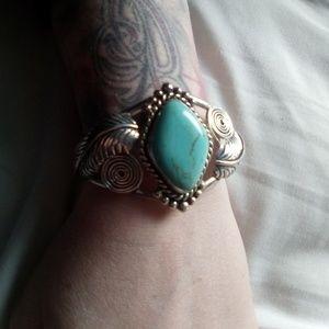 Real turquoise bracelet